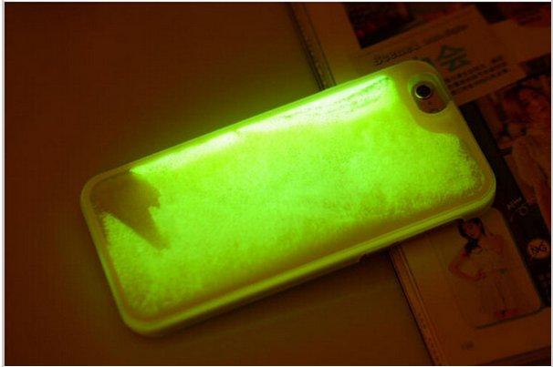 Cover con Liquido Fluorescente per iPhone 5 / 5 s – 6 – 6 plus ...