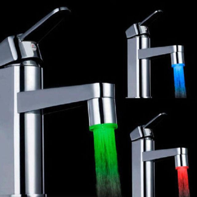 Rubinetto Led Come Funziona.Sensore Di Temperatura Luce Led Per Rubinetti Superbazar